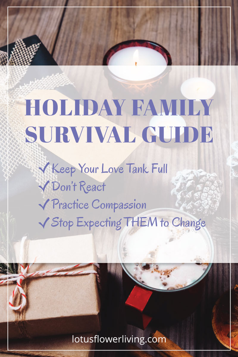 Holiday Family Survival Guide by Lotus Flower Living