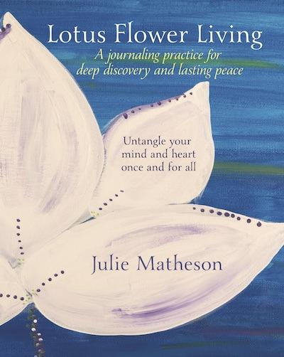 Lotus Flower Living Book Cover